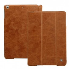 Vintage iPad 2017 (5th Generation) Case, Leer, Bruin